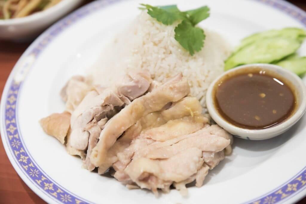 マレーシア料理②ハイナンチキンライス