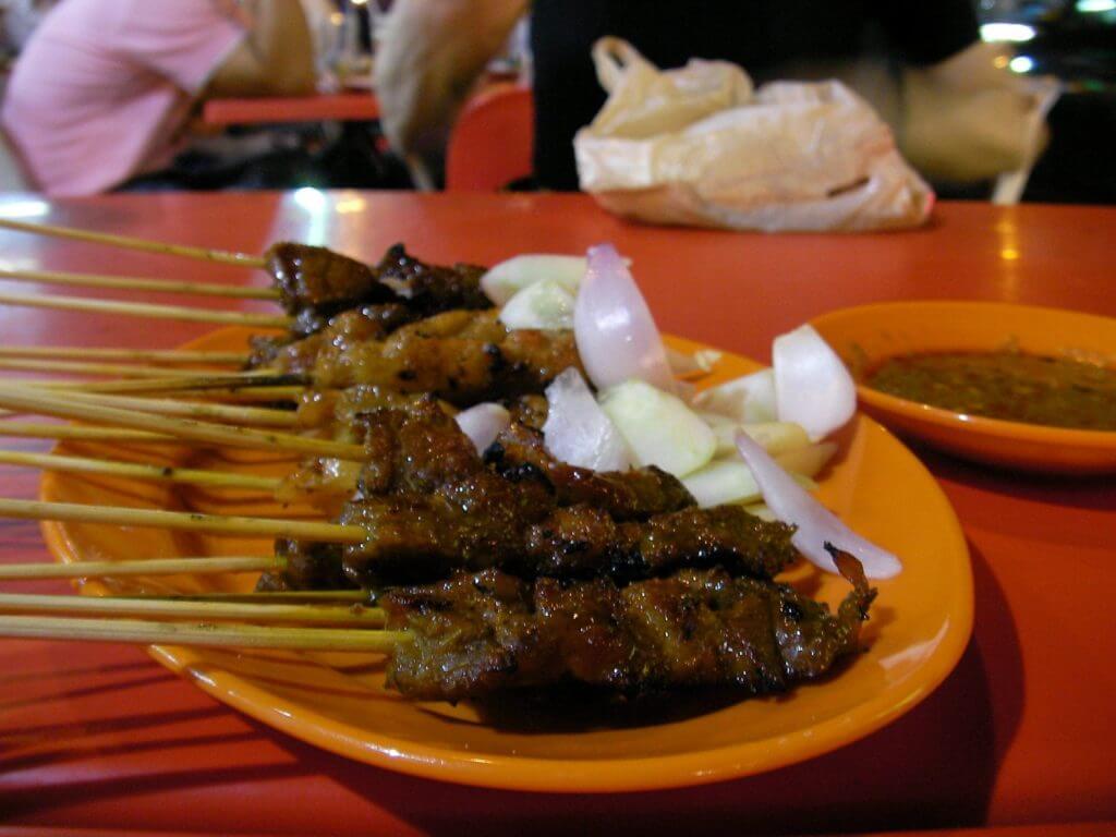 マレーシア料理③サテー