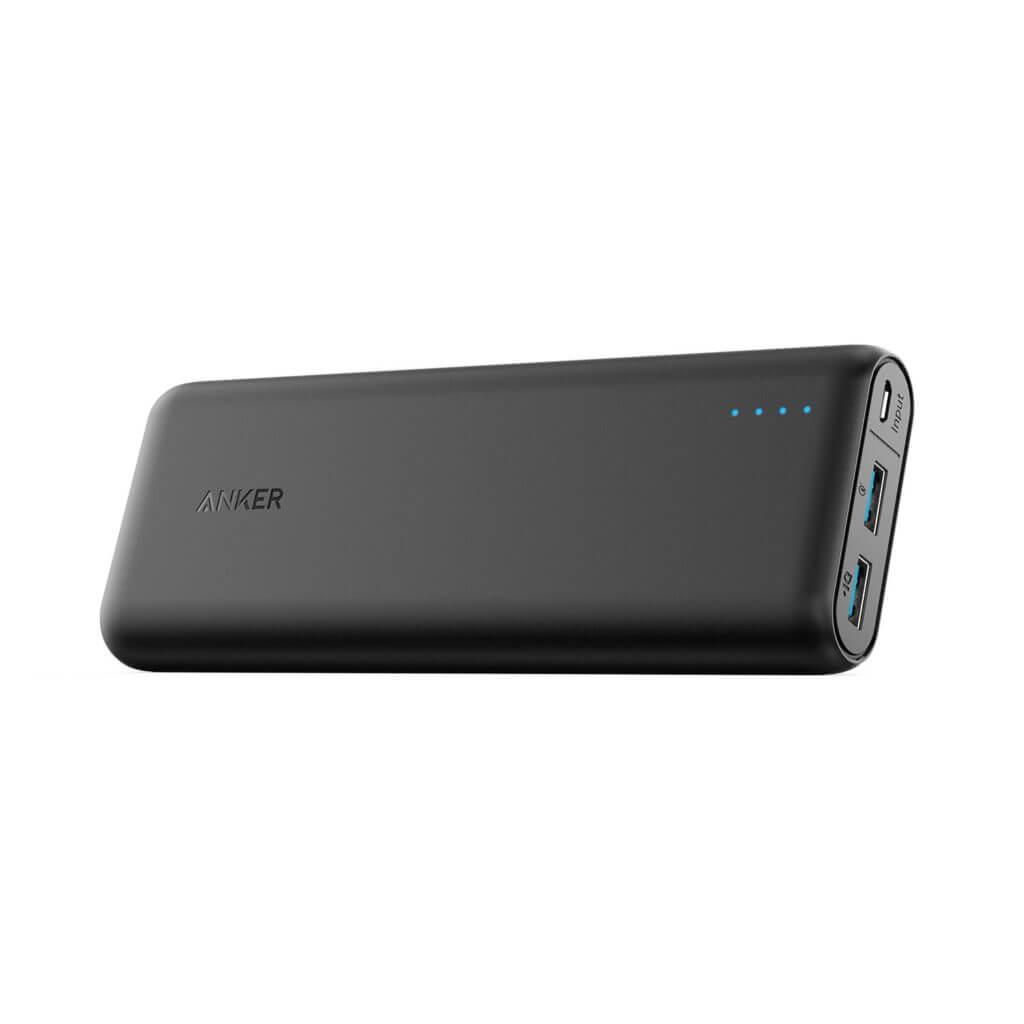 海外旅行におすすめのモバイルバッテリー②Anker PowerCore Speed 20100