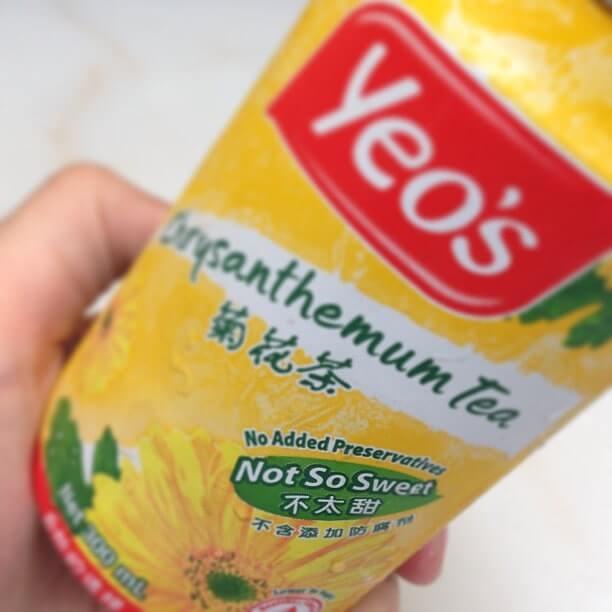 マレーシア定番ドリンク⑪Chrysanthemum Tea ( クリセンテマム・ティー )