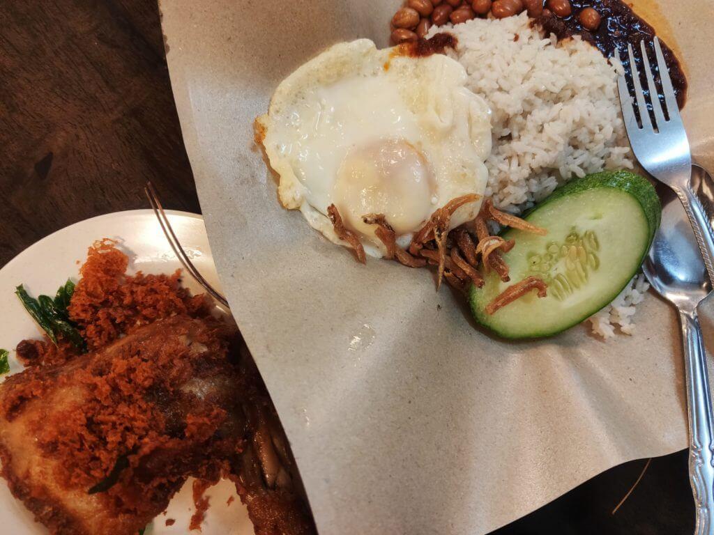 マレーシア料理①ナシレマ