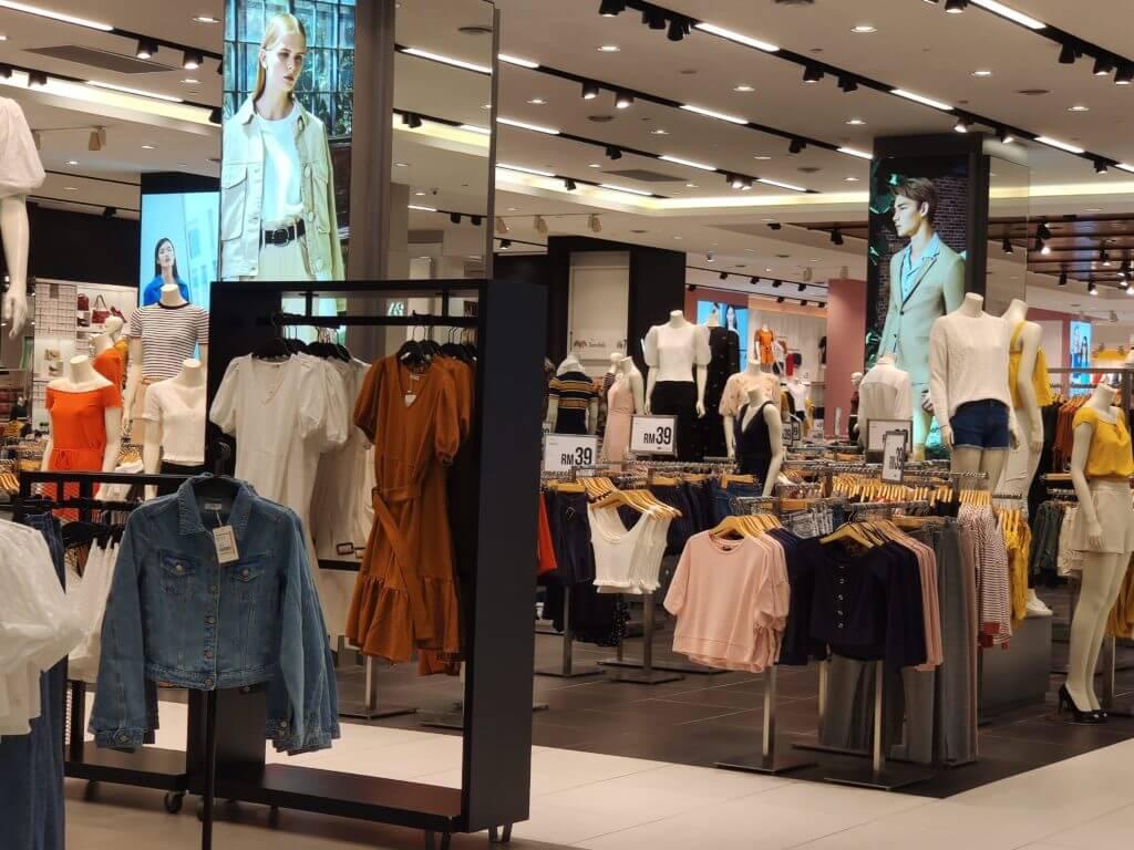 マレーシア 物価②服などの衣料品を日本と比較