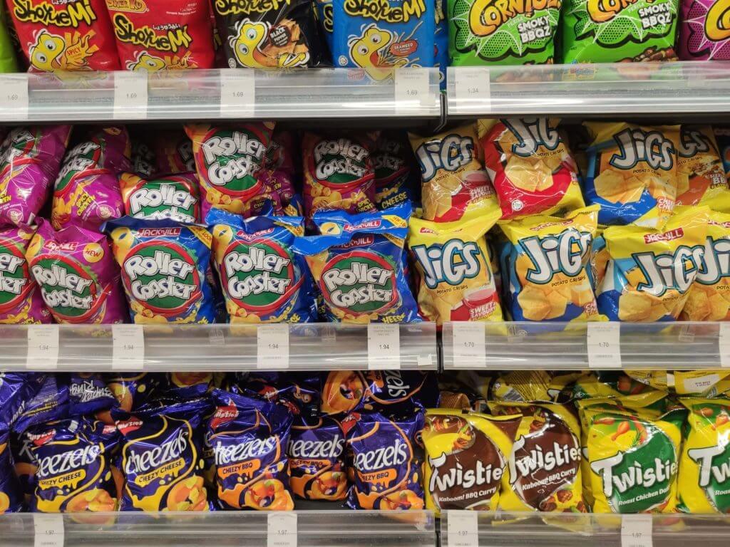 マレーシアの物価 お菓子