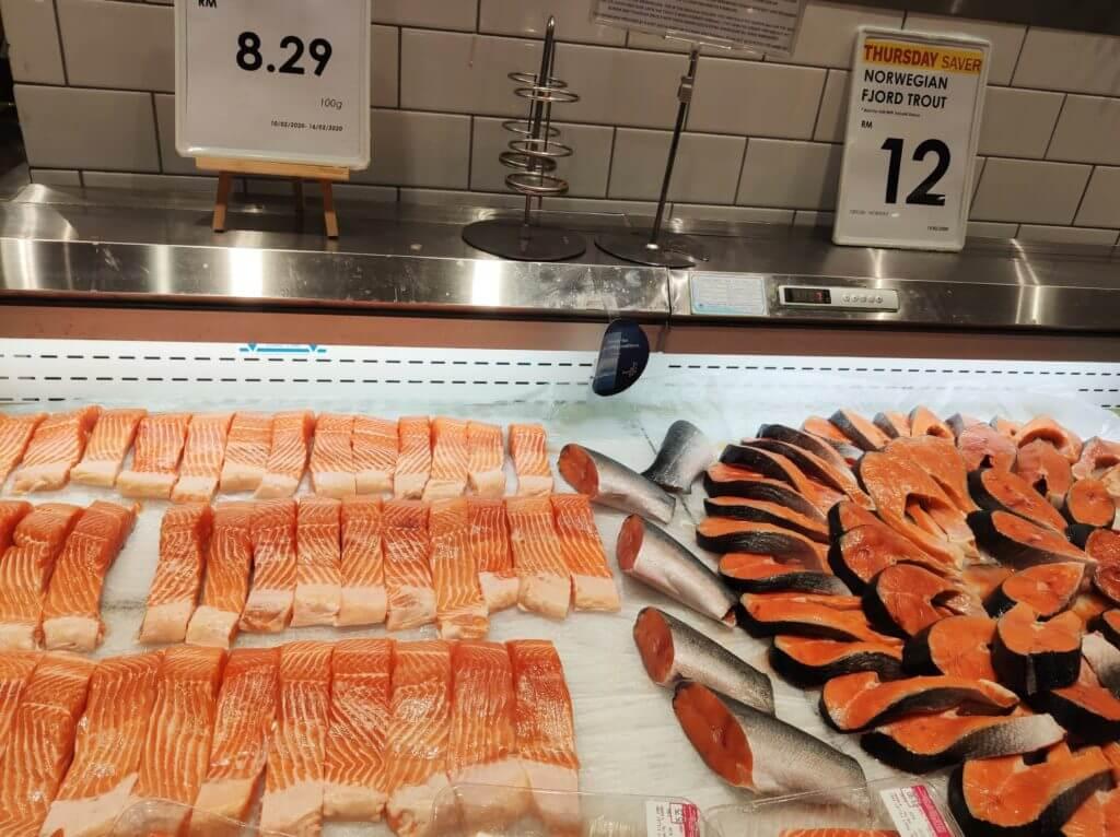 マレーシア 物価 肉や魚など生鮮食品