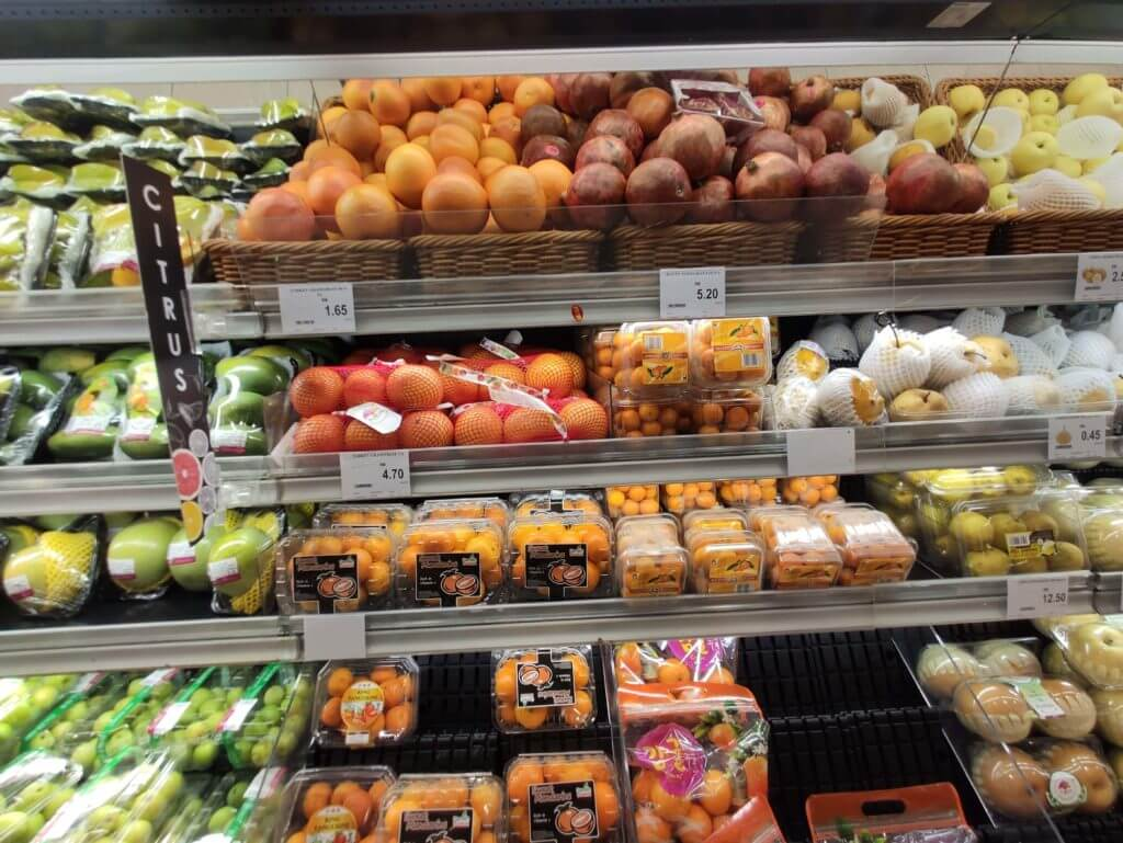 マレーシア 物価①スーパーを日本と比較