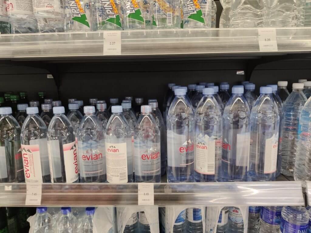 マレーシア物価ジュース・水・牛乳などの飲料