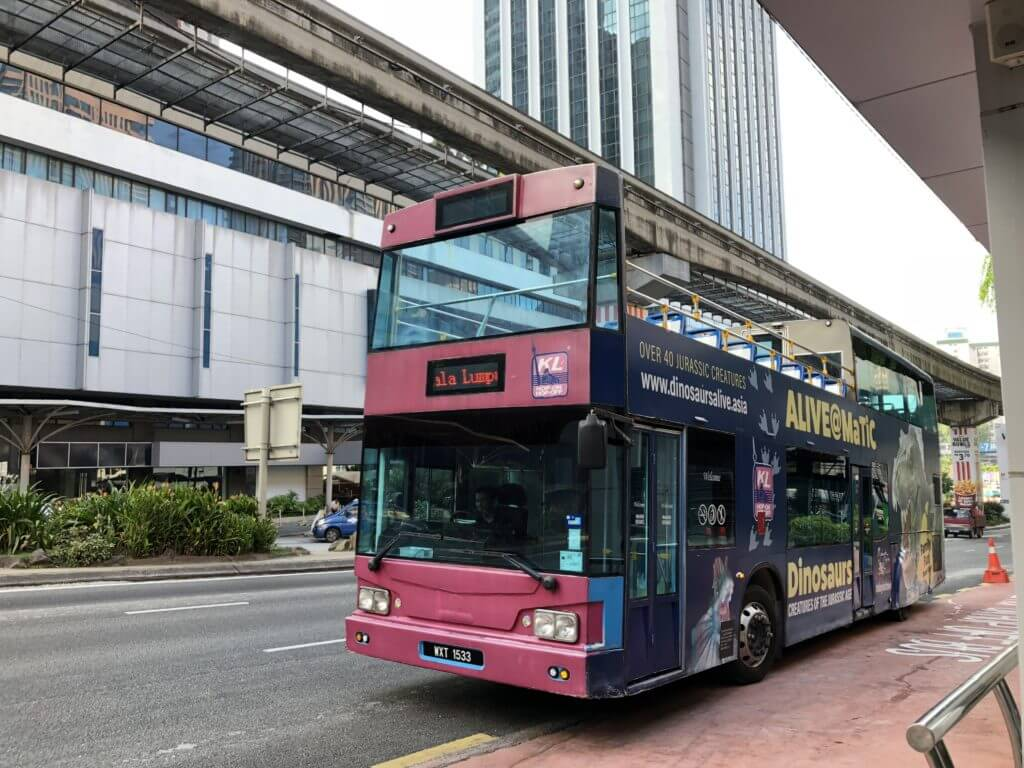 クアラルンプール観光⑩HOP-ON HOP-OFFバス