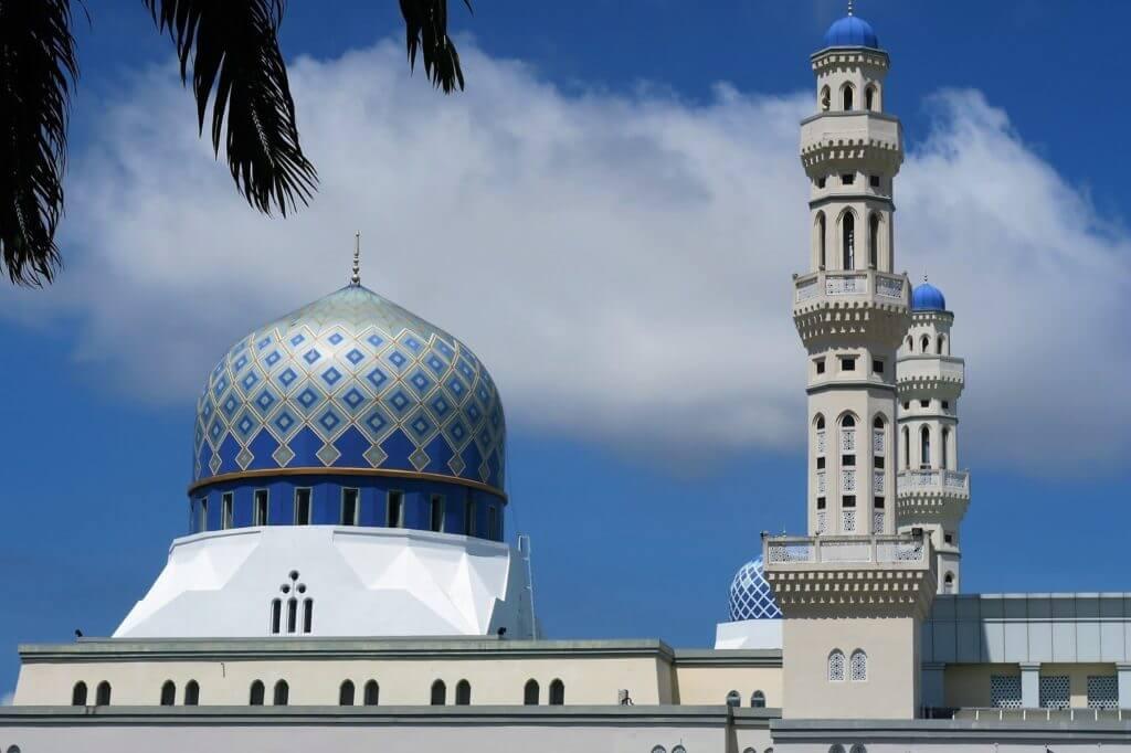 クアラルンプール観光⑦スルタン サラフディン アブドゥル アジズ シャー モスク (ブルーモスク)