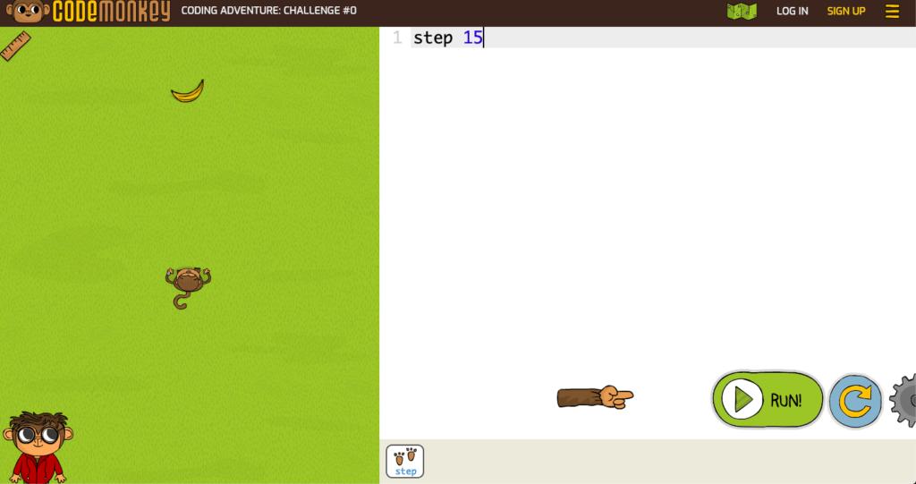 小学生向けプログラミングアプリ  ③Codemonkey