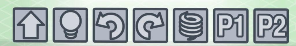lightbot プロシージャ編で使うボタン