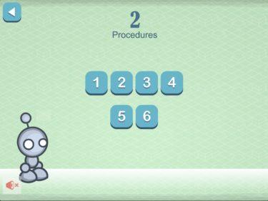 プログラミング学習アプリ「lightbot(ライトボット)」プロシージャ編のやり方と解答