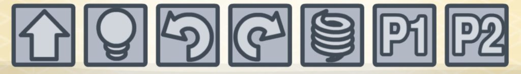 lightbot ループ編のボタン