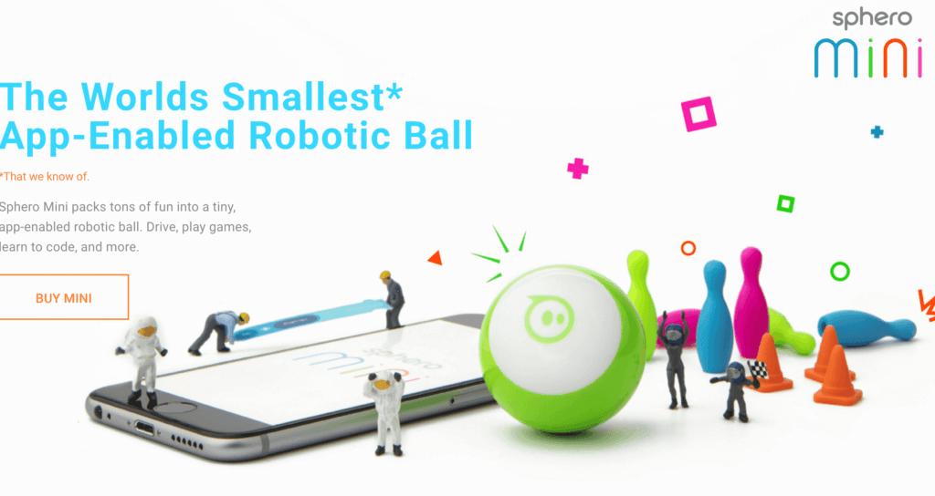 プログラミングロボット「Sphero」