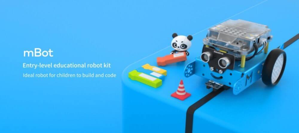 プログラミングロボットの新生!「Makeblock」