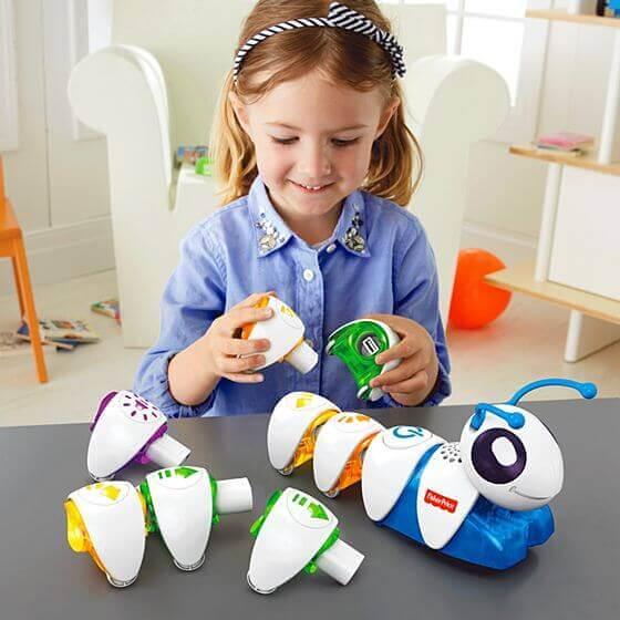 子供向けプログラミングおもちゃ ①「コード・A・ピラー」