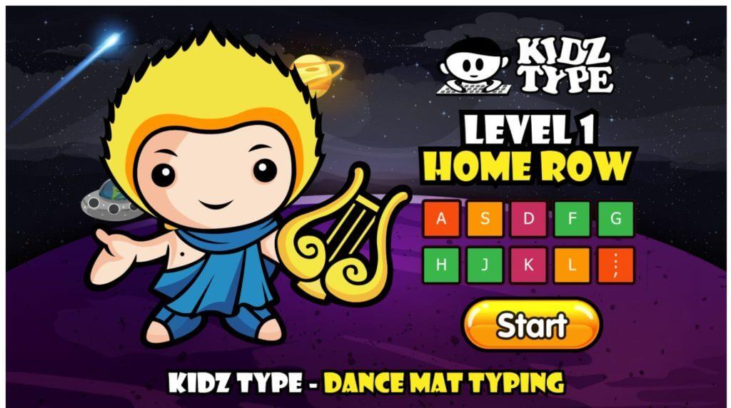おすすめタイピングゲーム 5.KidzType