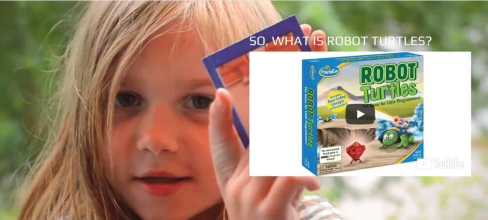 子供向けプログラミングおもちゃ ③ 「Robot Turtles」