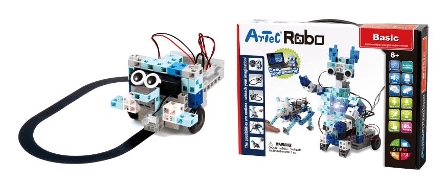 国産のプログラミングロボット教材「アーテックロボ」